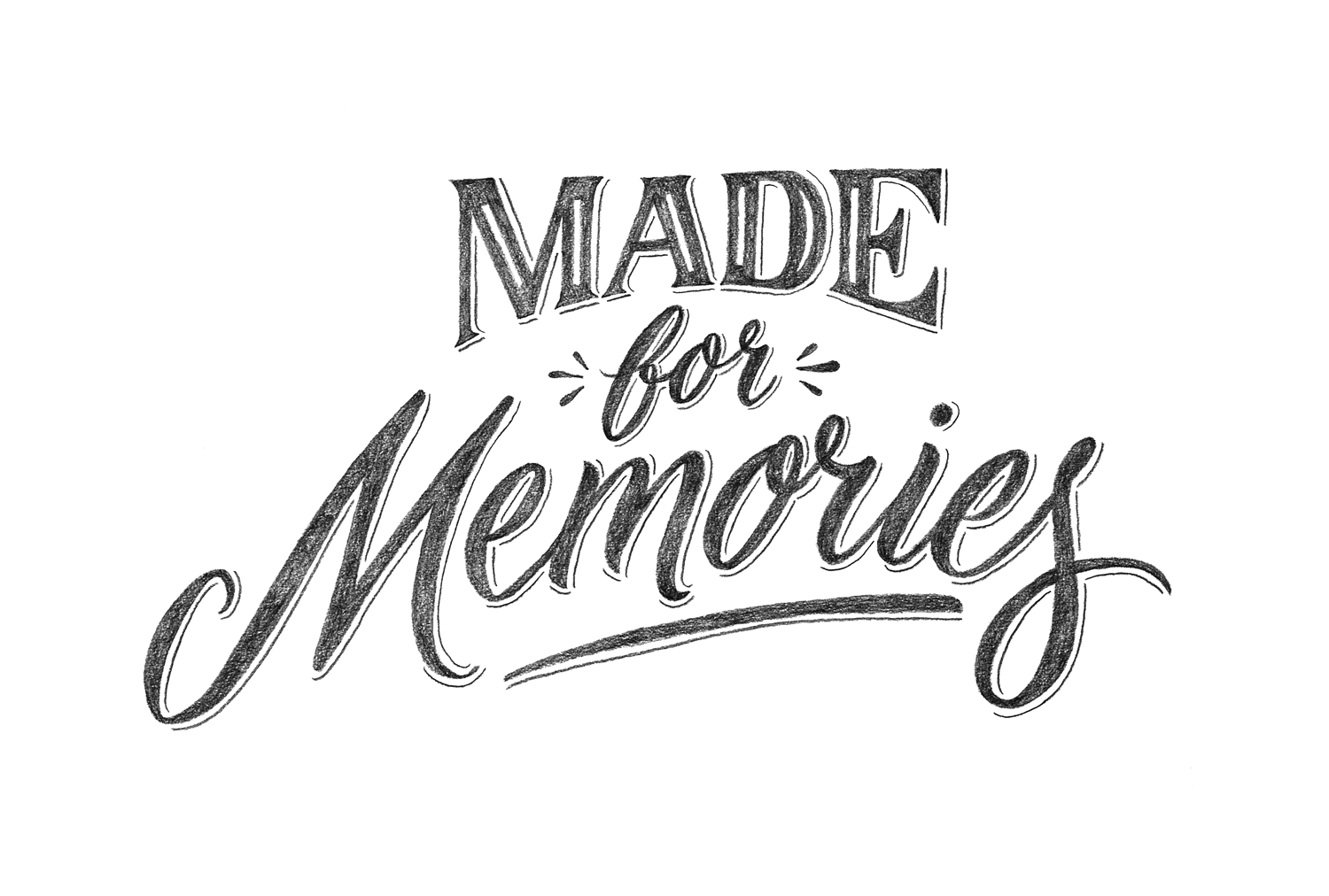 Csr Made For Memories Cookbook Carla Hackett Lettering